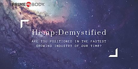 Hemp: Demystified tickets