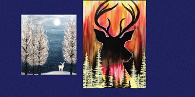 Deer for all Paint Class