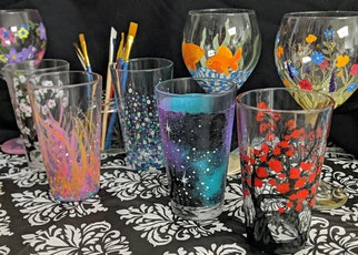 POSTPONED: Pint Glass Painting Workshop tickets