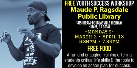 Free Youth Success Workshop (Monday's) tickets