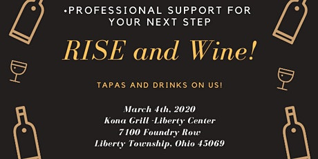 RISE and Wine tickets