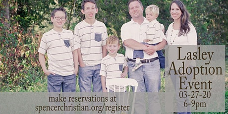 Lasley Family Adoption Event tickets
