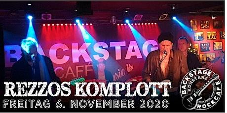 REZZOS KOMPLOTT Tickets