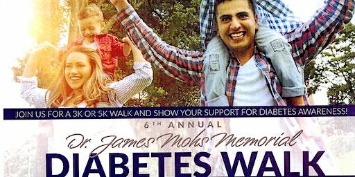 VMC Presents the 6th Annual Dr. James Mohs Memorial Diabetes Walk
