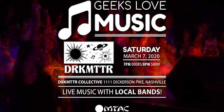 Geeks Love Music 2020 tickets