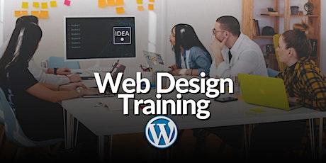 Web Design Beginners Workshop - Design with WordPress tickets