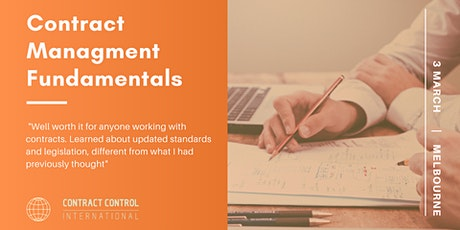 1-Day Contract Management Fundamentals Course tickets