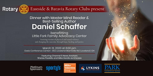 Dinner with Master Mind-Reader Daniel Schaffer