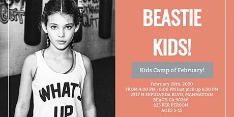 KIDS CAMP of February!  tickets