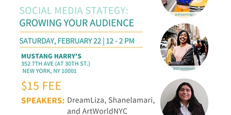 NYC Bloggers Meetup: Social Media Strategy Growing Your Audience tickets
