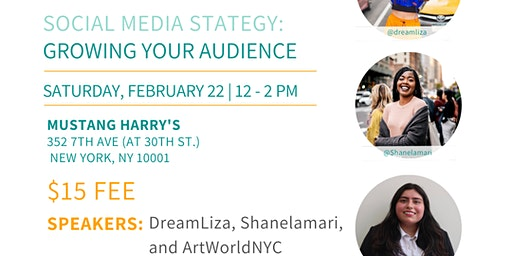 NYC Bloggers Meetup: Social Media Strategy Growing Your Audience