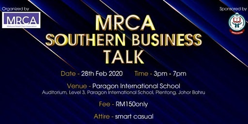 MRCA SOUTHERN BUSINESS TALK 2020