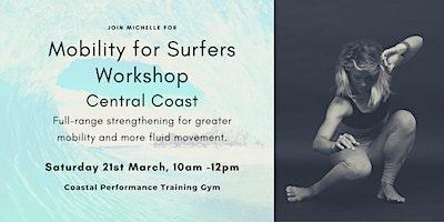 Mobility for Surfers Workshop Central Coast