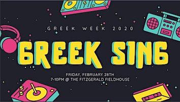 Pitt Greek Sing 2020
