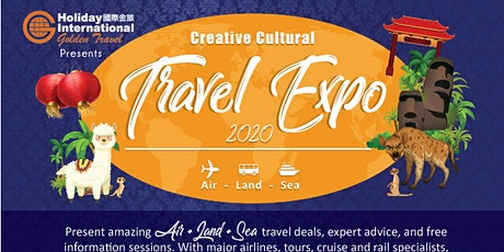 Creative Cultural Travel Expo 2020 tickets
