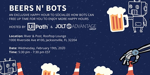 Beers N' Bots - RPA Networking Event