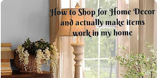How to Shop for Home Decor
