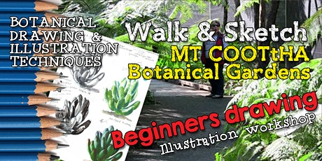 BOTANICAL BEGINNERS WALK & SKETCH- Illustration Techniques tickets
