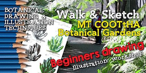 BOTANICAL BEGINNERS WALK & SKETCH- Illustration Techniques