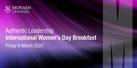 International Women's Day Breakfast - Authentic Leadership tickets