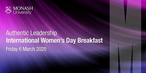 International Women's Day Breakfast - Authentic Leadership