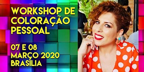Workshop de Coloração Pessoal p/ Profissionais da Beleza - Fabiana Mendes ingressos