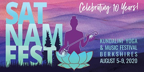 Sat Nam Fest Berkshires, August 5-9, 2020 tickets