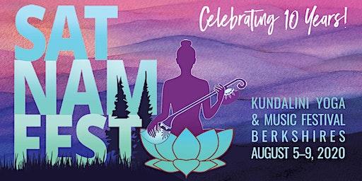 Sat Nam Fest Berkshires, August 5-9, 2020