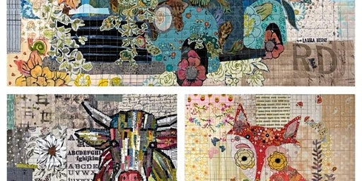 Laura Heine Collage-Sold Out