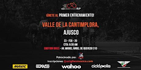 Entrenamiento CDMX rumbo a UCI Gran Fondo San Luis Potosí boletos