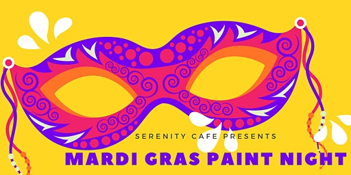 Mardi Gras Paint Night