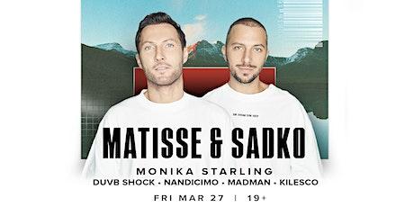 Avalon Fridays: MATISSE & SADKO tickets