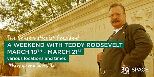 Teddy Roosevelt Live at Spartanburg Community College, Downtown Auditorium