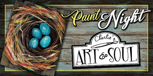 Charlie's Art & Soul Paint Event