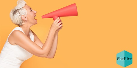 Her Bold Voice Speaks: Public Speaking Series (PM session) tickets
