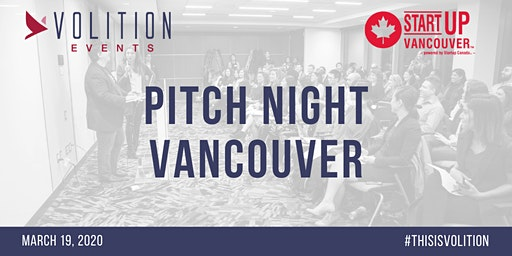Pitch Night Vancouver | March 19