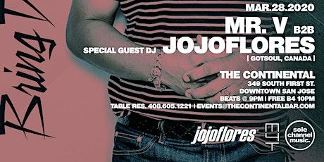Bring Down the Walls: Mr. V B2B jojoflores tickets