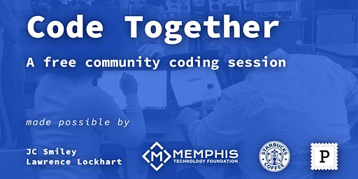 Code Together   North MS - A free community coding session