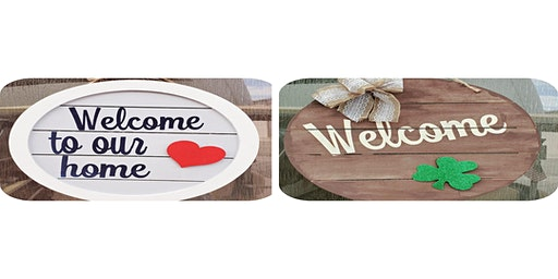 Pallet interchangeable door hanger  $30.00