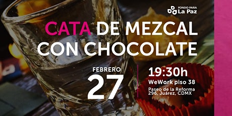 Cata de mezcal con chocolate boletos
