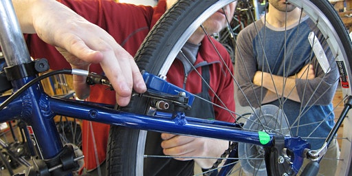 February Basic (External) Maintenance Class at the Bike Kitchen