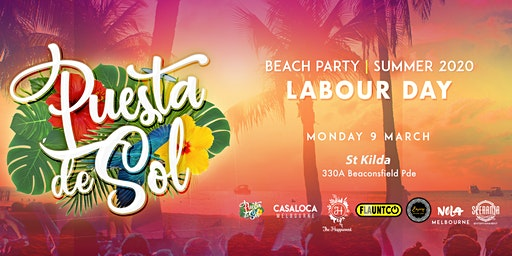 Puesta de Sol Labour Day | Summer Beach Party