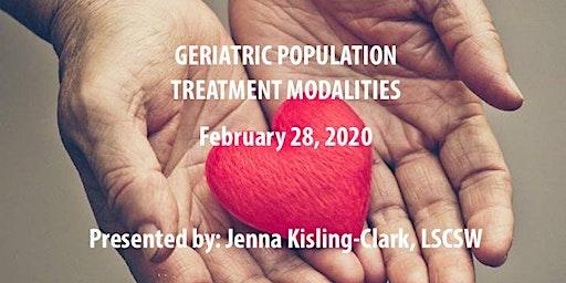 Geriatric Population Treatment Modalities