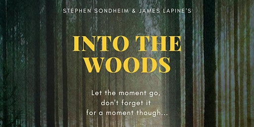 Into the Woods July 31-August 9