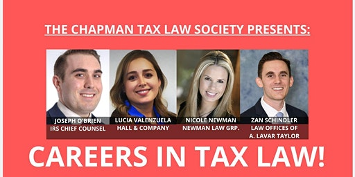 TLS Presents: Careers in Tax Law!