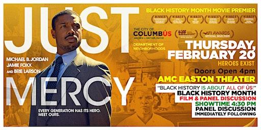City of Columbus Dept. of Neighborhoods' Black History Month Movie Premier