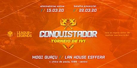 Conquistador - Torneio de 1v1 ingressos