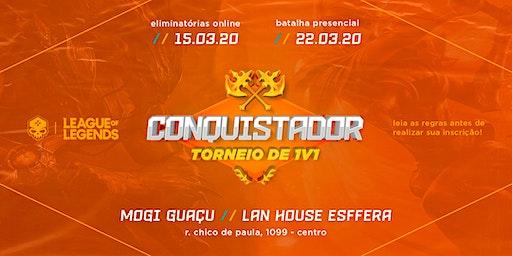 Conquistador - Torneio de 1v1