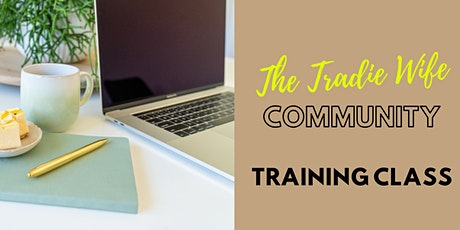 Instagram for Business - Training Class for The Tradies Wife Community tickets