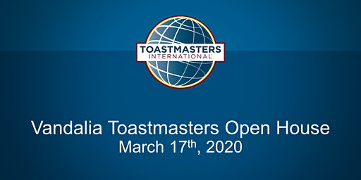 The Vandalia Toastmasters Club Open House
